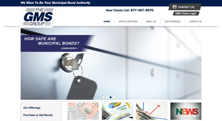 The GMS Group - Municipal Securities Leader